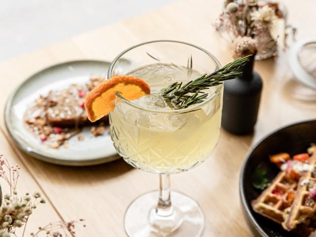 The Friendly Kitchen Cocktail Newton
