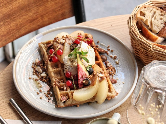 The Friendly Kitchen Gaufre à la farine de sarrasin